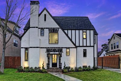 Houston TX Single Family Home For Sale: $574,900