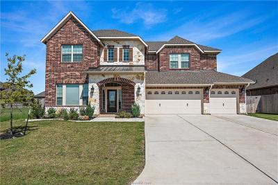 College Station Single Family Home For Sale: 2608 Belliser Court