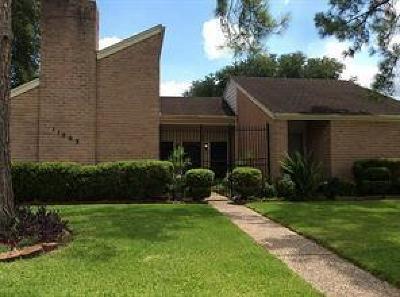 Houston Single Family Home For Sale: 11503 Ella Lee Lane Lane