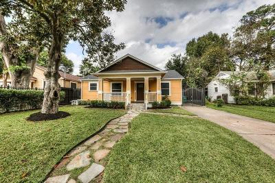 Houston Single Family Home For Sale: 1003 Gale Street