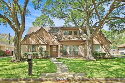 Houston Single Family Home For Sale: 2307 Greyburn Lane