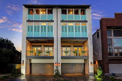 Houston Condo/Townhouse For Sale: 2407 Driscoll Street