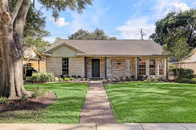 Houston Single Family Home For Sale: 6213 Burgoyne Road