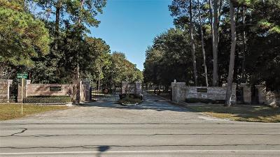 Tomball Residential Lots & Land For Sale: Waterford Estates Court