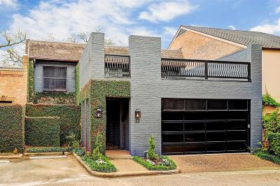 Houston Condo/Townhouse For Sale: 13 River Hollow Lane