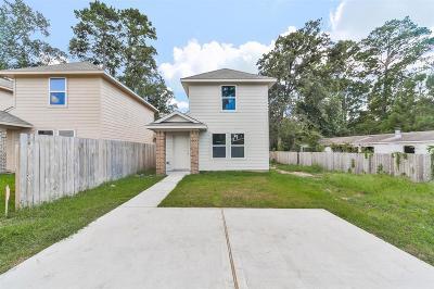 Montgomery Single Family Home For Sale: 16701 E Hammon