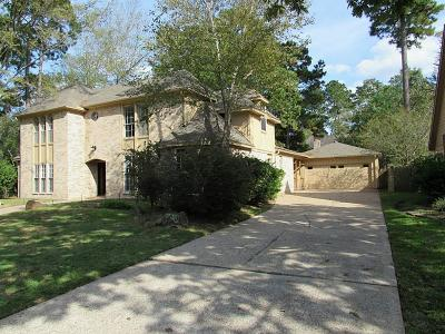 Houston Single Family Home For Sale: 2822 Deer Hollow Drive