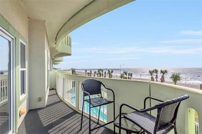 Galveston Mid/High-Rise For Sale: 9420 Seawall Boulevard #405