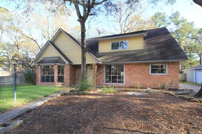 Kingwood Single Family Home For Sale: 4110 Garden Lake Drive