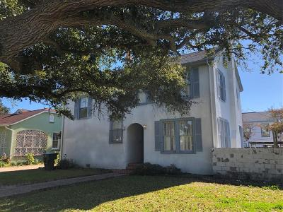 Single Family Home For Sale: 3827 Avenue P 1/2