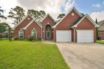 Crosby Single Family Home For Sale: 18206 Steele Point Drive