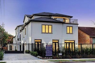 Houston Single Family Home For Sale: 2312 Potomac Drive #A