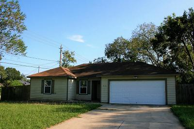 Sealy Single Family Home For Sale: 210 N 3rd Street