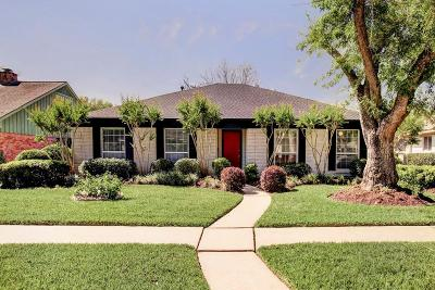 Houston Single Family Home For Sale: 6135 Wigton Drive