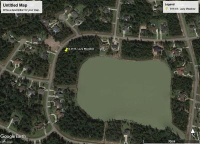 Spring Residential Lots & Land For Sale: 6114 N Lazy Meadow Way