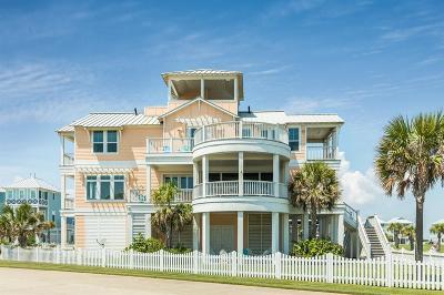 Galveston Single Family Home For Sale: 3834 Sea Urchin