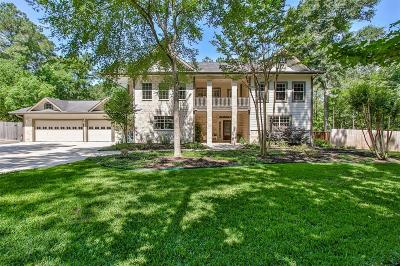 Conroe Single Family Home For Sale: 39 Creek Forest Lane