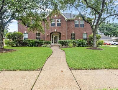 Friendswood Single Family Home For Sale: 1812 Parkview Drive