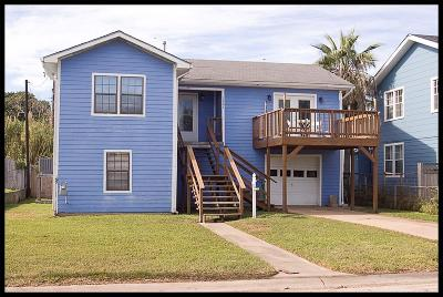 Galveston Single Family Home For Sale: 1901 Bayou Homes Drive