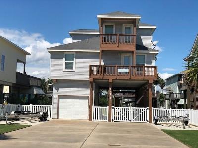 Galveston Single Family Home For Sale: 22108 Cantina Drive