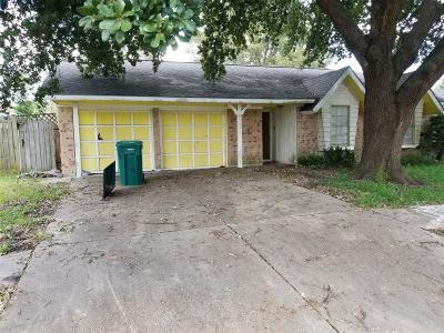 Pasadena Single Family Home For Sale: 4113 Donerail Drive