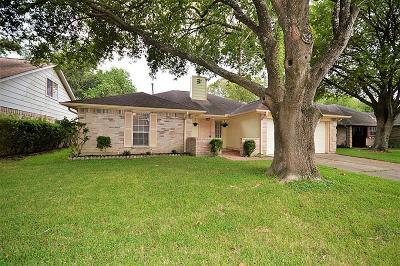 Webster Single Family Home For Sale: 15802 Castorglen Drive