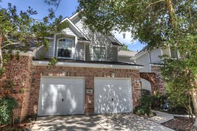 The Woodlands Condo/Townhouse For Sale: 91 S Spiral Vine #91
