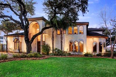 Houston Single Family Home For Sale: 6006 Memorial Drive