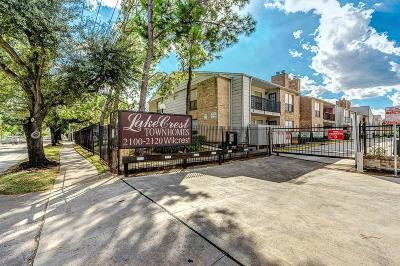 Harris County Rental For Rent: 2100 Wilcrest Drive #122