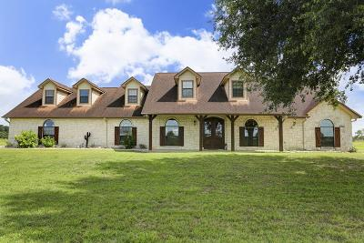 Fulshear TX Single Family Home For Sale: $1,100,000