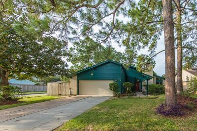 Houston Single Family Home For Sale: 16403 Mill Point Drive