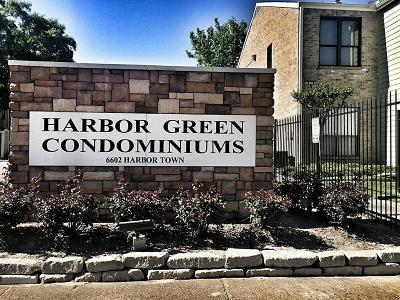 Houston Condo/Townhouse For Sale: 6602 Harbor Town Drive #1005