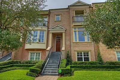 The Woodlands Condo/Townhouse For Sale: 15 Colonial Row Drive