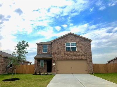 Texas City Single Family Home For Sale: 2409 Nautica Terrace Drive