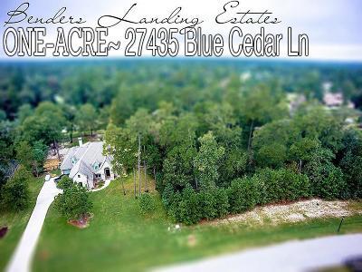 Spring Residential Lots & Land For Sale: 27435 Blue Cedar Lane