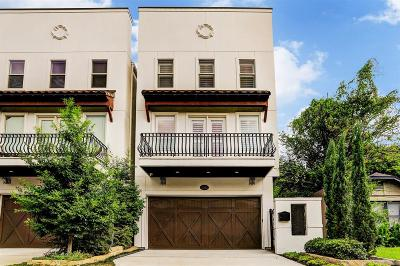Houston Single Family Home For Sale: 2111 Huldy Street