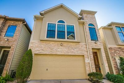 Houston Single Family Home For Sale: 1379 Studer Street