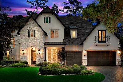 The Woodlands TX Single Family Home For Sale: $1,695,000