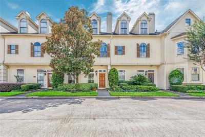 Houston Condo/Townhouse For Sale: 3327 Green Tree Park