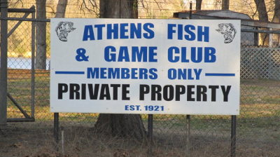 Athens Single Family Home For Sale: 1 Athens Fish & Game Rd.