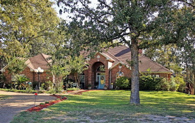 Murchison Single Family Home For Sale: 11600 West Lake Drive
