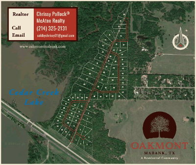 Mabank Residential Lots & Land For Sale: 112 Oakmont Dr