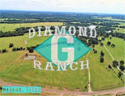 Mabank Acreage For Sale: 2473 Fm 90