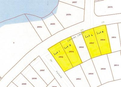 Murchison Residential Lots & Land For Sale: Lt 6 & 8 Callender Lake Drive