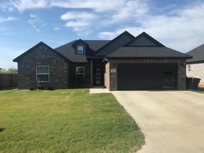 Mabank Single Family Home For Sale: 109 Oak Springs Loop