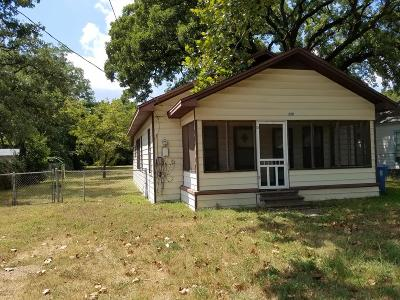Athens TX Single Family Home For Sale: $49,900