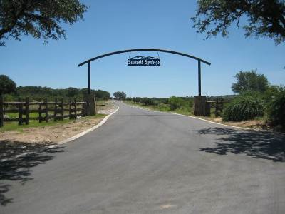 Marble Falls Residential Lots & Land For Sale: Lot 45 Clear Springs Court