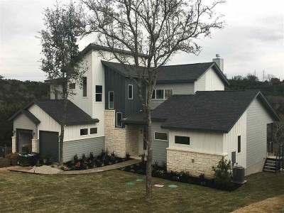 Granite Shoals Single Family Home For Sale: 2201 Belaire