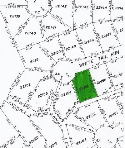 Horseshoe Bay P Residential Lots & Land For Sale: 22155 White Tail Run