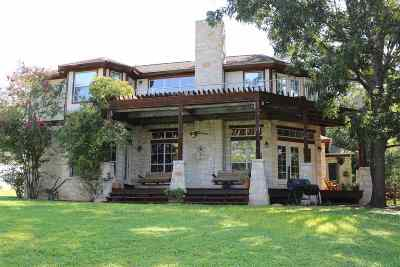 Burnet Single Family Home Pending-Taking Backups: 245 Waters Edge